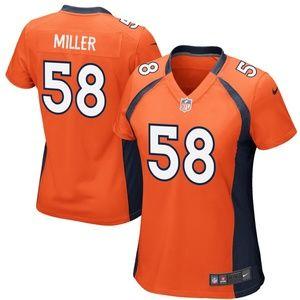 Women's Denver Broncos Von Miller Jersey